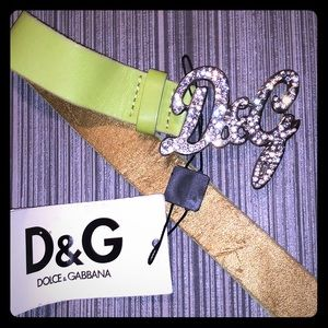 DOLCE & GABBANA belt. New with tags. 37 inches